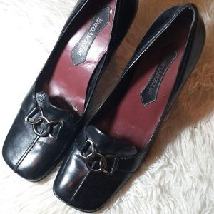Enzo Angiolini Loop Link Loafers-Size 9